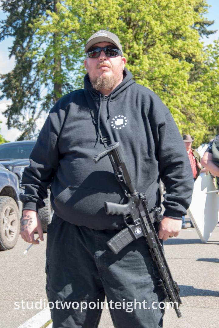 March For Our Rights 2.0, Gun Rights Rally, 2019 April 27, Olympia, Washington Tall Photos