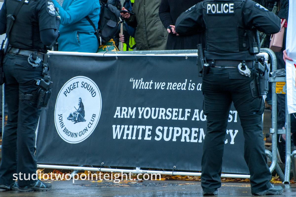 Seattle, Liberty or Death 2 Rally, December 1, 2018, Puget Sound John Brown Gun Club Attended