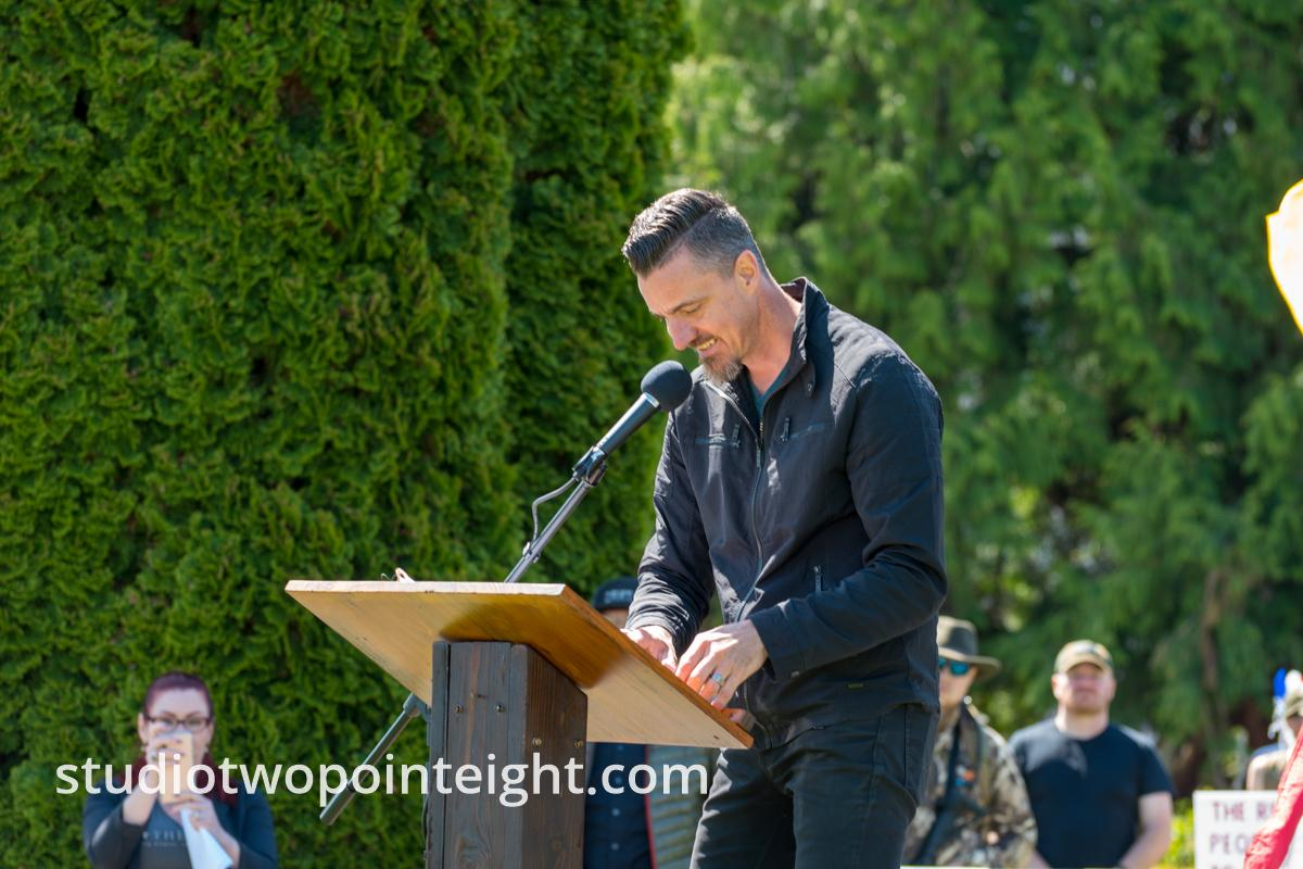 March For Our Rights 2.0, Gun Rights Rally, April 27, 2019, Olympia, Washington