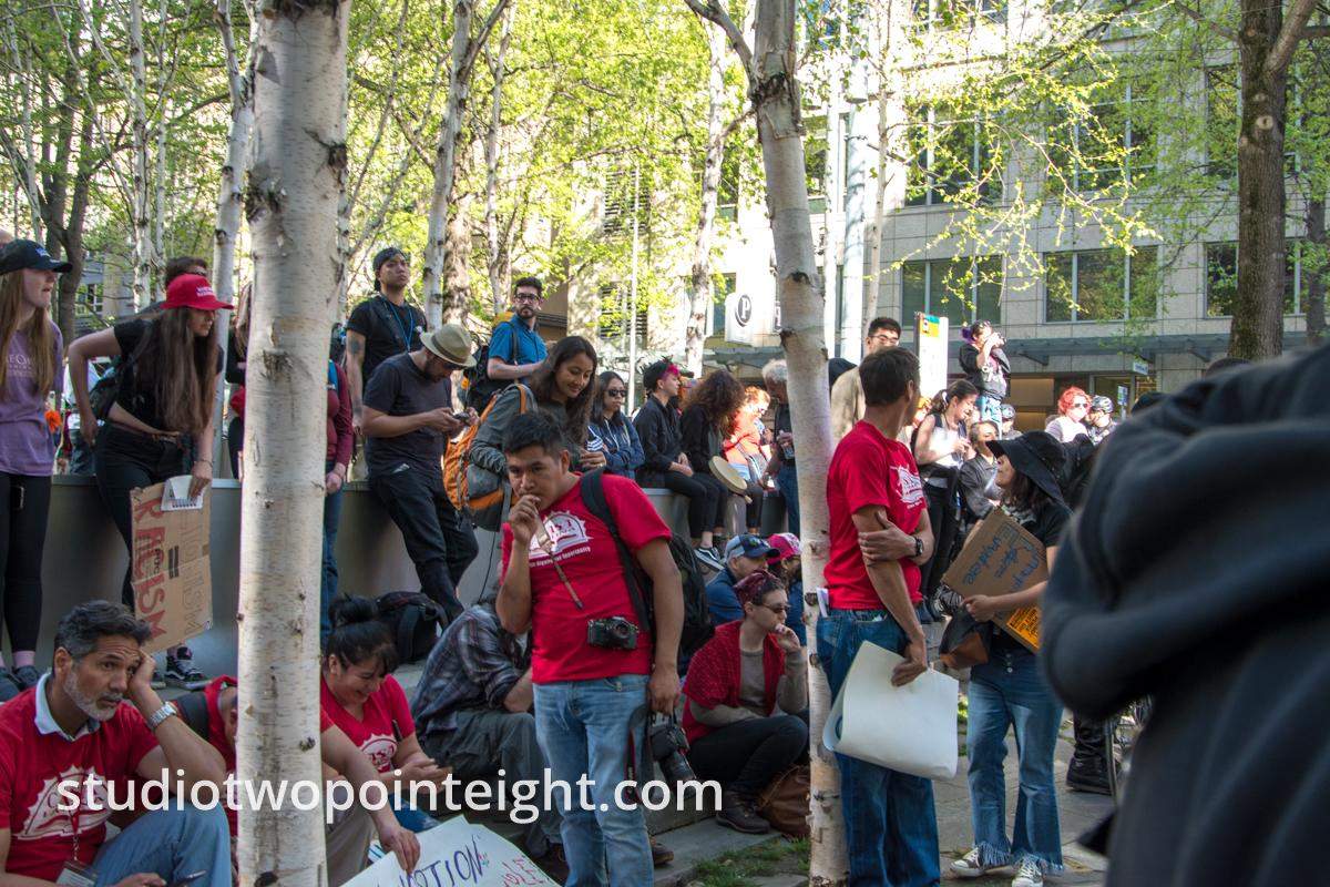 Seattle MayDay 2019 Immigration Politics Rally, Wide Photo Gallery