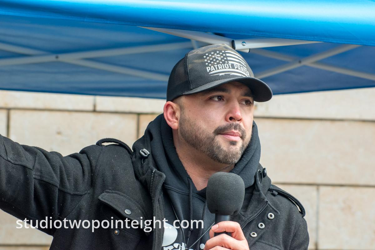 Studio 2.8, January 5, 2020, Seattle City Hall, Washington Three Percent, United Against Hate, Joey Gibson Speech