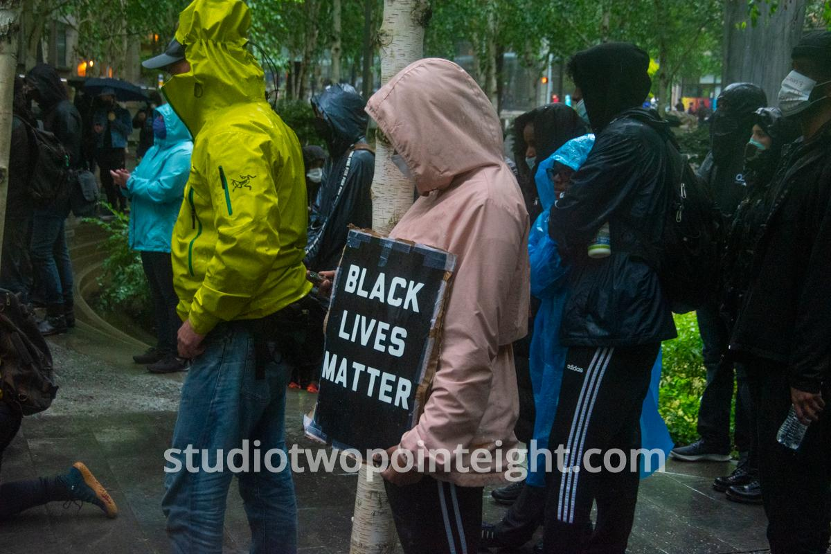 Studio 2.8, Seattle Protests, George Floyd, Black Lives Matter, May 30, 2020, Photo And Video Coverage