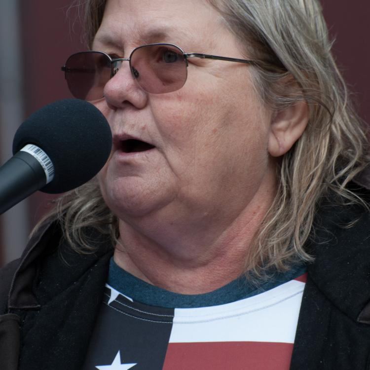 Seattle, Liberty or Death 2 Rally, December 1, 2018, Shari Dovale Speaking