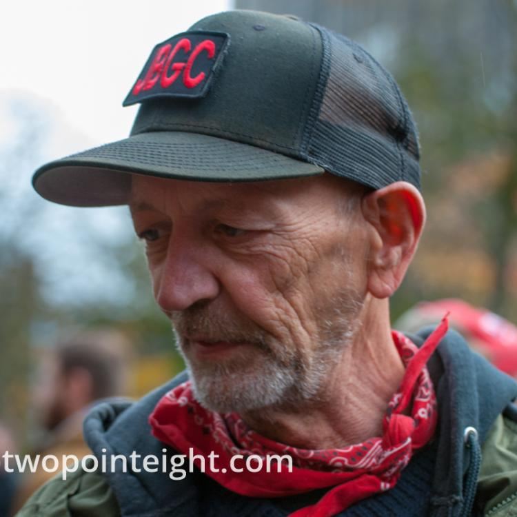 Seattle, Liberty or Death 2 Rally, December 1, 2018, Willem Van Spronsen, Puget Sound John Brown Gun Club Member
