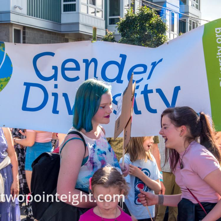 Seattle Trans Pride 2019, Gender Diversity Banner
