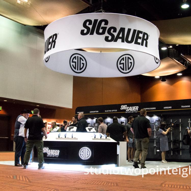 Studio 2.8 At Triggrcon 2019, Sig Sauer, An Anchor Exhibitor