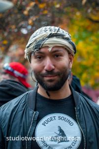 Seattle, Liberty or Death 2 Rally, December 1, 2018, A Member Of The Puget Sound John Brown Gun Club Who Met With Washington Three Percent