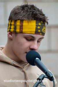 Seattle, Liberty or Death 2 Rally, December 1, 2018, A Young Jewish Member of Washington Three Percent Was Among The Speakers