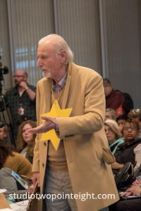 Seattle City Council, March 18, 2019, Alex Tsimerman Wore a Yellow Star of David While Testifying