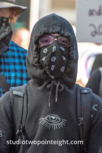 Seattle May 1, 2019 May Day Immigration Rally Antifa Black Bloc Terrorist Event Crashers