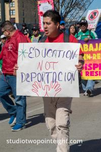 Seattle May 1, 2019 May Day Immigration Rally Mass Gallery, Over One Hundred Tall Photos