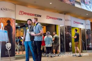 Studio 2.8 Photography at the Triggrcon 2019 Exhibition Hall Entrance
