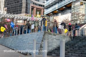 Studio 2.8, January 5, 2020, Seattle City Hall, Washington Three Percent, United Against Hate, Wide Photo Super Gallery
